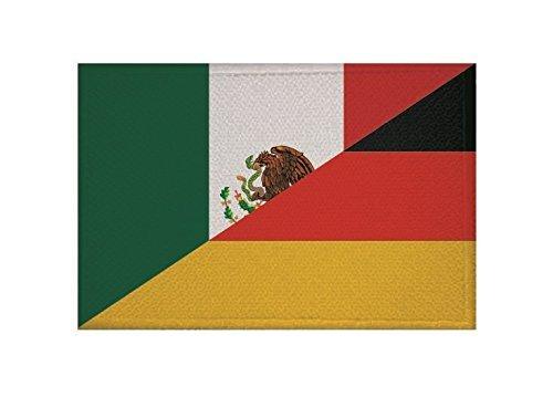 UB Aufnä her Mexiko - Deutschland Flagge / Fahne Aufbü gler Patch 9 cm x 6 cm Neuware!!! unibuy.de
