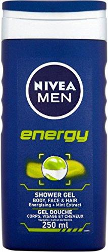 Nivea Men Duschgel Körper Gesicht Und Haare - Energie (250 Ml)
