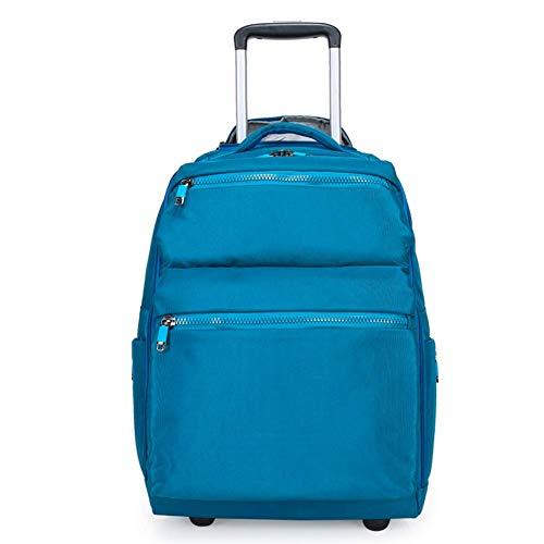 - DYYTRm Trolley School Bag Scroll Laptop Backpack Luggage Wheeled Backpack Bag Girl and boy School Laptop Bag