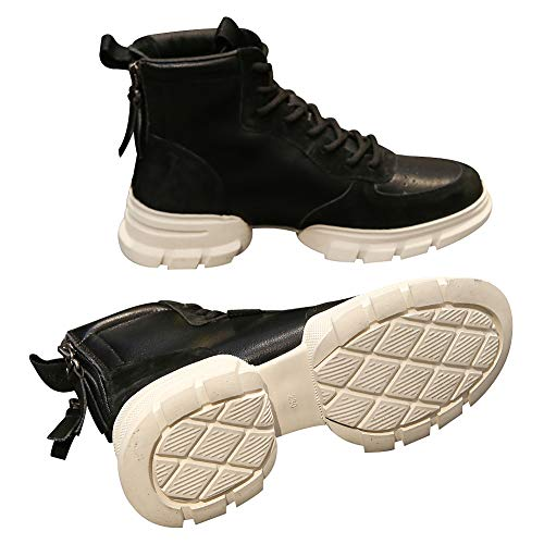 Semelle Noir Tennis Femmes Divisé Plate Rismart Mode Désinvolte Baskets forme Chaussures WvIB4RnRq
