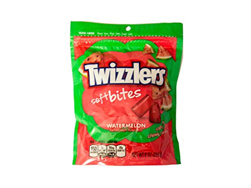 Twizzlers Soft Watermelon Bites, 8 oz (Twizzlers Watermelon)