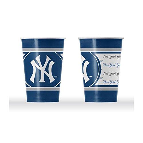 Yankees Paper York New - New York Yankees Disposable Paper Cups