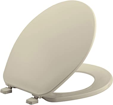 Bemis 70-000 Closed Front with Cover Toilet Seat Round White