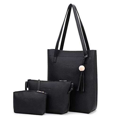 Mode Portés De À Noir Main Femmes La Sac Bandoulière Murieo Portefeuille Sacs Pour YwqvBf5