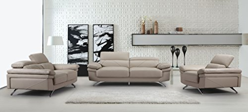 beige leather living room set. Container Furniture Direct Brody Mid Century Modern Three  3 Piece Bonded Leather Living Room Set Beige Sofas Archives Hub