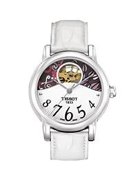 Tissot Womens Hear Automatic See through watch T050.207.16.037.00