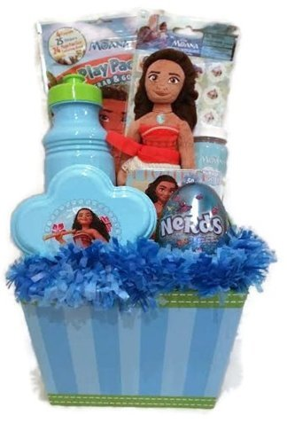 Amazon disney moana easter basket or gift basket for girls disney moana easter basket or gift basket for girls 10 pcs age 5 negle Image collections