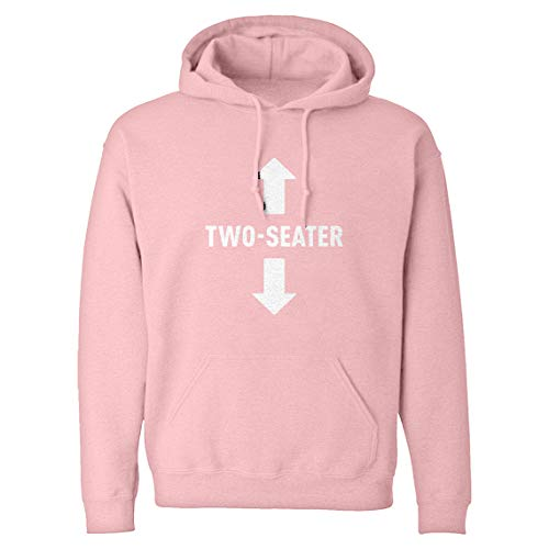 (Indica Plateau Hoodie Two Seater Large Light Pink Hooded Sweatshirt)