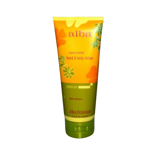 Alba Botanica Hawaiian Cocoa Butter Hand & Body Lotion 7 fl oz - Hawaiian Cocoa Butter