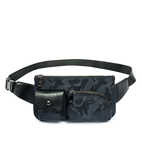 - Shozafia Waist Water Repellent Fanny Pack Nylon Invisible Pattern Camo, Small