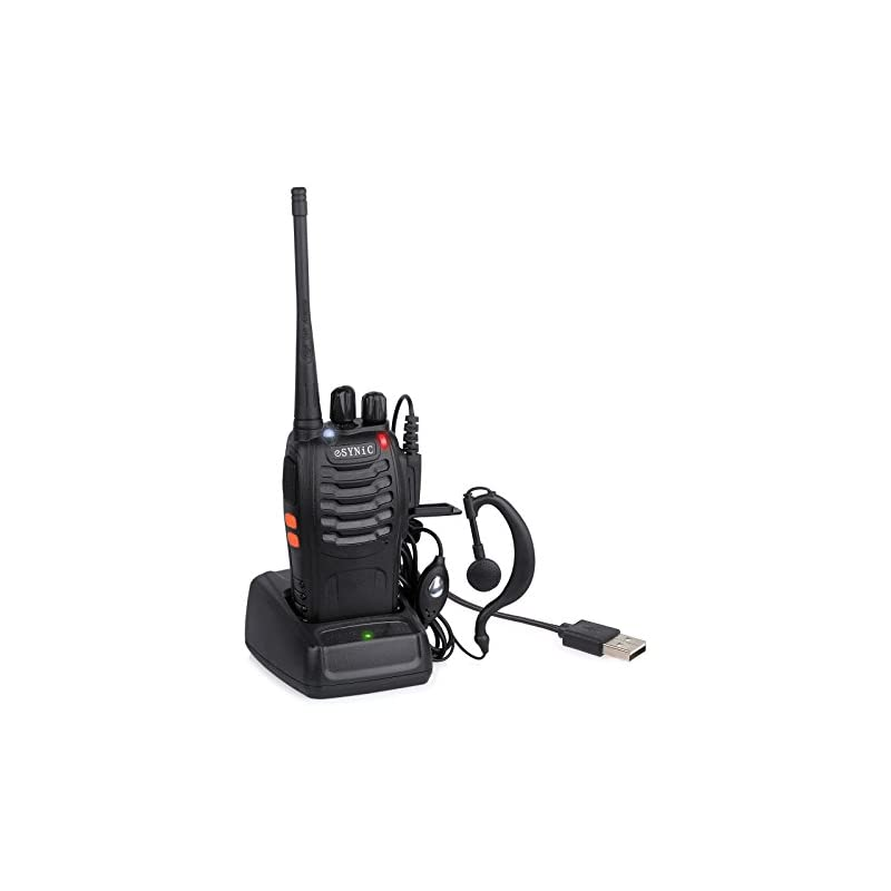 ESYNIC Walkie Talkie 1 pcs Long Range Tw