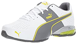 Puma Men's Cell Surin 2.0 Fm Sneaker, White-quiet Shade-nrgy Yellow, 10.5 M Us