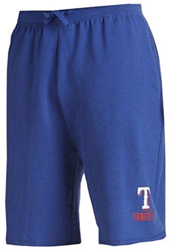 Majestic Texas Rangers MLB Mens Cotton Shorts Royal Blue Big & Tall Sizes (6XL)