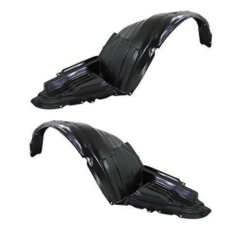 Koolzap For 08-11 Impreza Front Splash Shield Inner Fender Liner Panel Left & Right SET PAIR