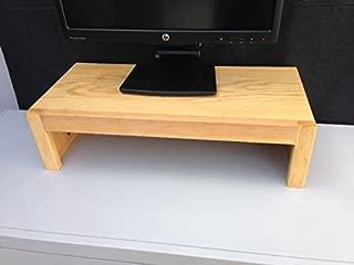 product image for Oak Design Corporation Computer Monitor Riser Solid Pine (Golden Pine)