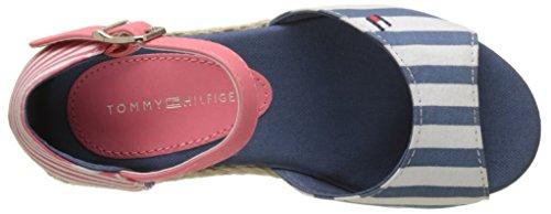 Fermé Tommy Multicolore Hilfiger Fille Sandales K3285ristin Bout Jeans 5c2 wx76xfAXnq