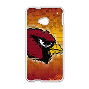 NFL Team Logo Arizona Cardinals Cell Phone Case For HTC One M7