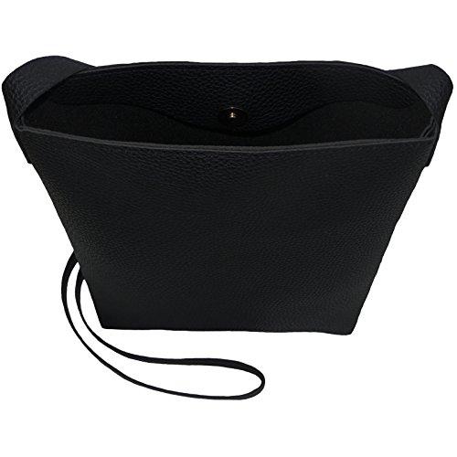 Bucket Black With Bag Cross Monogram body Purse 4xqZq5Uf