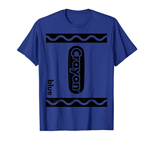 Blue Crayon Box Full Set Of Crayons Kid's Halloween Costume  T-Shirt ()