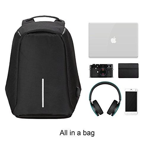 Anti Theft Travel Laptop Backpack 2017 Humanized Design