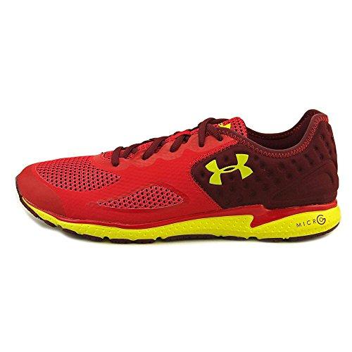 Under ArmourUA Micro G Mantis 2 - Zapatillas de Running Hombre Rojo - rojo