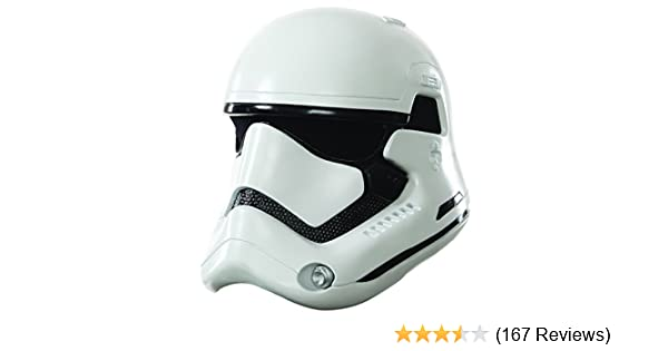 Star Wars: The Force Awakens Adult Stormtrooper 2-Piece Helmet
