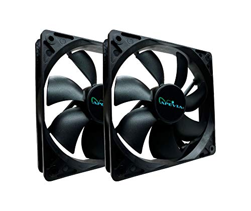 120mm case fan twin pack - 9