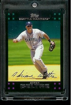 2007 Topps Adrian Beltre Seattle Mariners #374 MLB Baseball Trading Card
