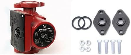 Grundfos UPS26-99FC Pump 52722512 Outside Boiler Furnace w//Pump Flanges 1