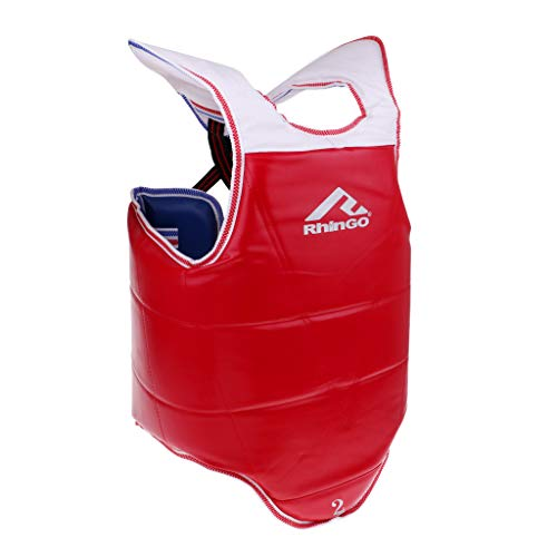 LEIPUPA Karate Chest Protector MMA Chest Guard for Muay Thai, Martial Arts, Taekwondo, Sparring & Fighting – Select…