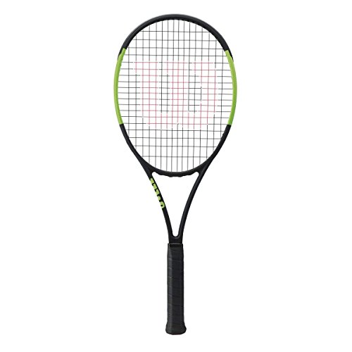 Wilson Blade 98S CV Countervail 18×16 Green Black Tennis Racquet Strung with Custom Racket String Colors