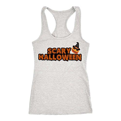 TAYEGU Scary Halloween Pumpkin Costume T-shirt   Women's Halloween (Scaryhalloween Costumes)