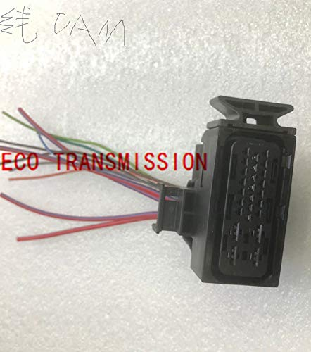 automatic transmission DQ200 0AM DSG 7spd 1K0973213 Connector with wires mechatronics wire harness part 11 wires 25 pins