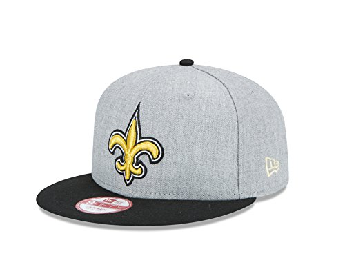 online retailer ea0a6 3377a NFL New Orleans Saints Men s New Era Bind Back 9FIFTY Snapback Cap,  Medium Large, Heather - Buy Online in UAE.   Sports Products in the UAE -  See Prices, ...
