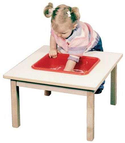 Toddler Sand & Water Table in Natural Finish by Steffy Wood Products