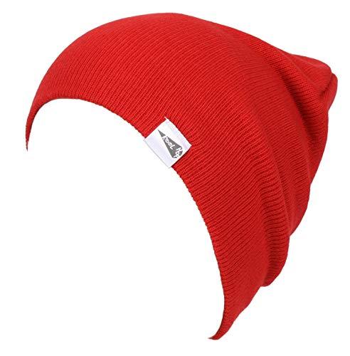KooL Hop Kids Boys Girls Baby 100% Pure Cotton Knit Basic Beanie Hat Cap ()