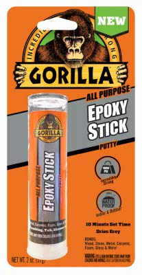 Gorilla All Purpose Epoxy Putty Stick, 2oz
