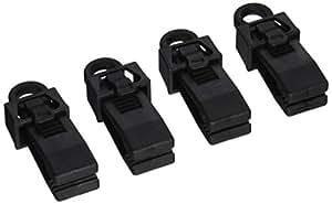 Homax 5304 Locking Tarp Clip, 4-Pack Carded