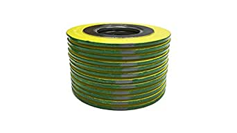 Sterling Seal 9000IR.500316GR600X24 316L Stainless Steel Spiral Wound Gasket with 316SS Inner Ring and Flexible Graphite Filler Pack of 24 of NJ Green Band with Grey Stripes for 1//2 Pipe Supplied by Sur-Seal Inc for 1//2 Pipe