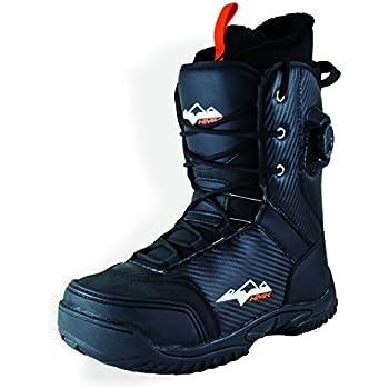 Amazon.com: HMK Men's Summit Dual Boa Boot (Black, Size 10