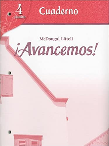 Amazon avancemos student activity workbook 9780618749942 amazon avancemos student activity workbook 9780618749942 mcdougal littel books fandeluxe Choice Image