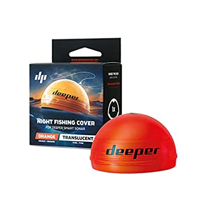Deeper Night Fishing Cover (orange) – Compatible with Smart Sonars