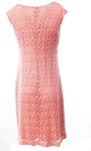 Drapey Des Femmes Connectée Roses Robe Manches