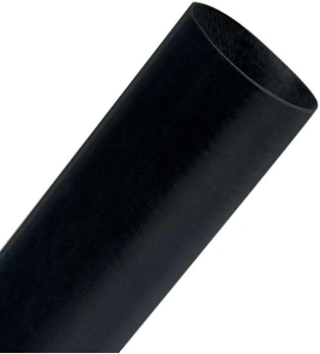 3//4 BLACK Heat Shrink Tubing 4 4//PK