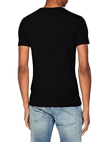 Homme Kaporal black Noir shirt Salut T YqqTF0U