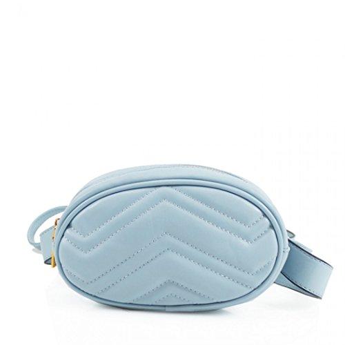 Belt Bum blue Bag Handbags L Women's 291 LeahWard Bags Waist Bag Holiday Belt qCaWFPxwgS