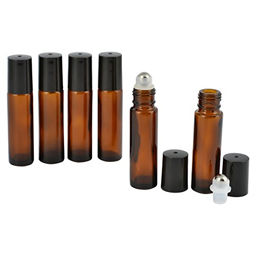 Year of Plenty 10ml Glass Roller Bottles for Essential Oils