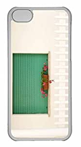 iPhone 5C Case, Personalized Custom White House for iPhone 5C PC Clear Case