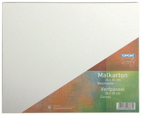 10x Malkarton 24x30cm Malpappe