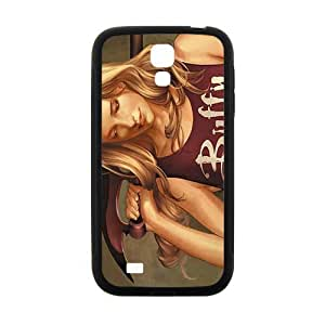 Black night starry sky boy and tiger Cell Phone Case for Samsung Galaxy S4